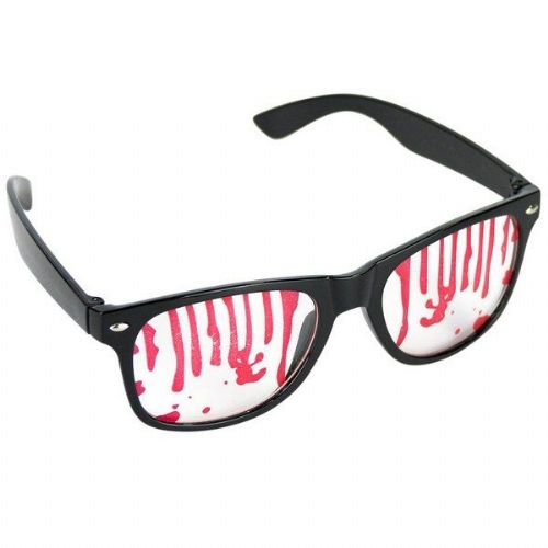 Party Glasses covered in Blood Vampire Zombie Bleeding